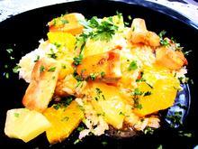 Ananas-Reis mit Hühnchenfleisch ... - Rezept - Bild Nr. 8847