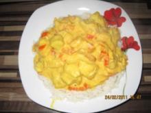 Fruchtig-cremige Currypfanne - Rezept