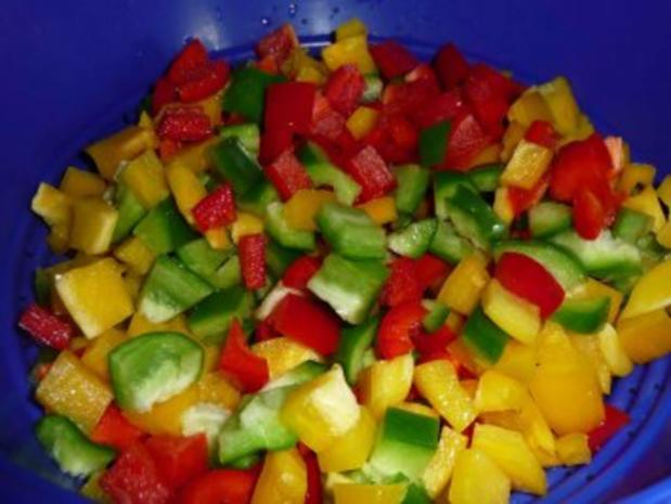 Paprika-Gemüse-Pfanne - Rezept - Bild Nr. 4