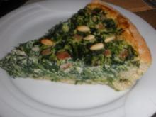 Ricotta-Spinat-Quiche - Rezept
