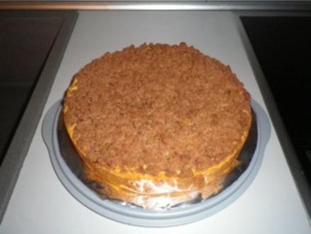Apfelkuchen mit Schokostreusel - Rezept