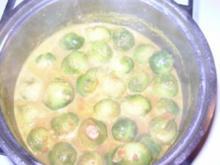 Curry-Rosenkohl - Rezept