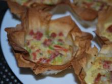 Pikante Filo-Muffins - Rezept