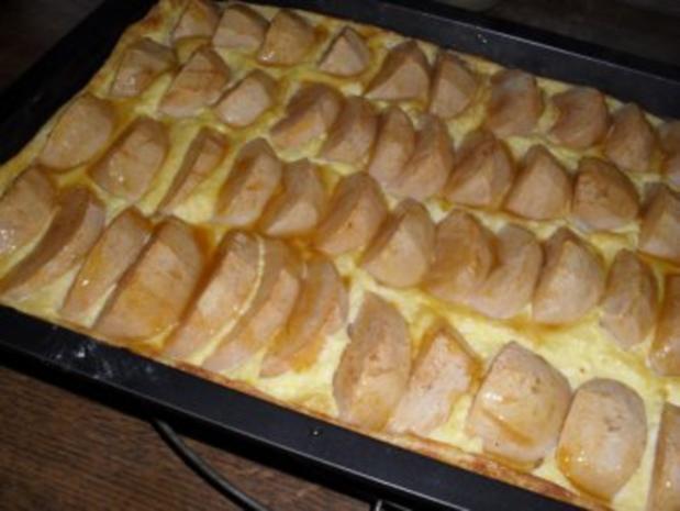 Apfelkuchen mit Sahnepudding - Besuch hat sich angekündigt - Rezept - Bild Nr. 12