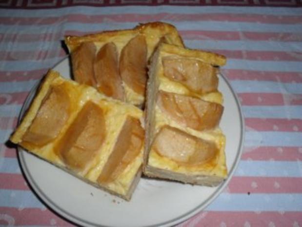 Apfelkuchen mit Sahnepudding - Besuch hat sich angekündigt - Rezept - Bild Nr. 13