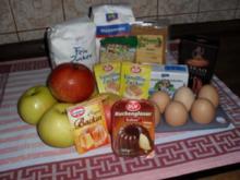 Rührteig-Apfelschnitten - Besuch hat sich angekündigt - Rezept