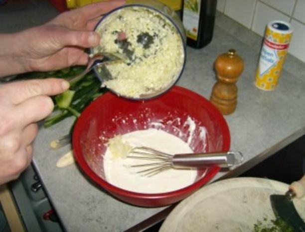 Gurkensalat mit Dillsoße - Rezept - Bild Nr. 5