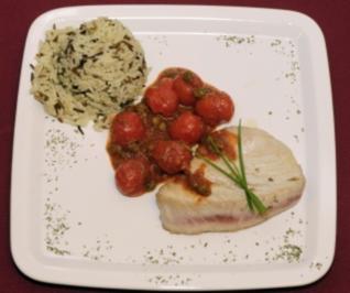 Tunfischsteak in Tomaten-Kapern-Soße (Carsten Spengemann) - Rezept