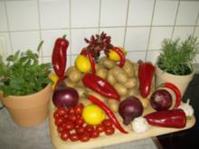 Chilli Kräuterofenkartoffeln - Rezept