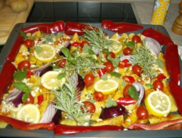 Chilli Kräuterofenkartoffeln - Rezept - Bild Nr. 5