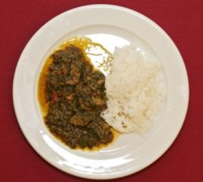 Ghanaischer Spinat - Kontomire (Liz Baffoe) - Rezept