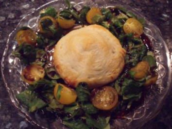 Pikant gefüllte Blätterteigtaschen - Rezept