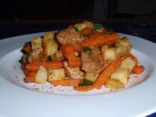 Kartoffel-Filet-Gemüse-Pfanne - Rezept