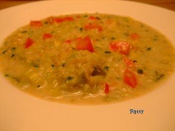 Grünkernsuppe - Rezept