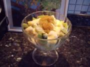 Dessert: Ananas-Kokos-Joghurt - Rezept