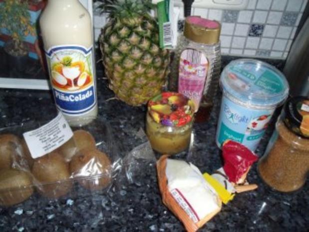 Dessert: Ananas-Kokos-Joghurt - Rezept - Bild Nr. 2