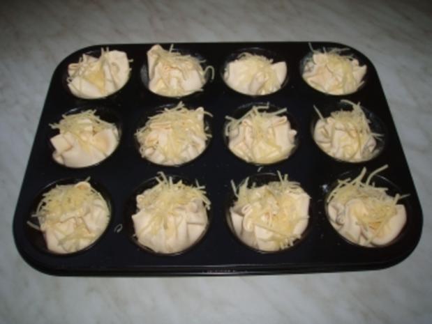Blätterteig-Schinken-Muffins - Rezept - Bild Nr. 3