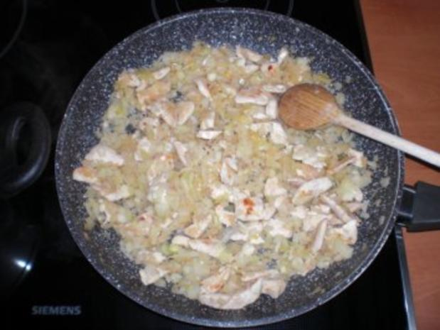 Nudelauflauf mit Hühnchen und Gemüse - Rezept - Bild Nr. 4