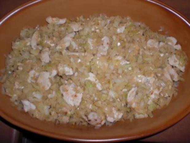 Nudelauflauf mit Hühnchen und Gemüse - Rezept - Bild Nr. 5