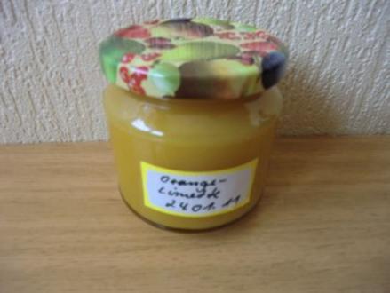 Orangen-Limetten-Marmelade - Rezept