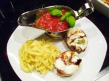 Fleisch: Mailänder Medaillons mit Basilikum-Tomatensoße - Rezept