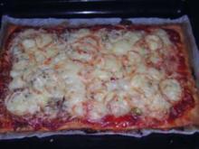 Pizza  - Ruck Zuck - Rezept
