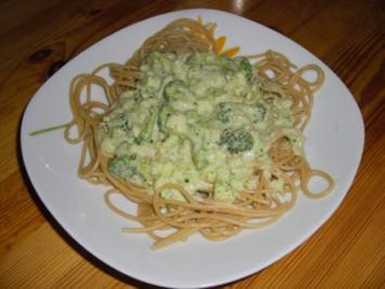 Pasta: Nudeln mit Broccoli-Soße - Rezept
