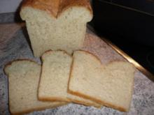 Brot: Weißbrot (Toastbrot) - Rezept