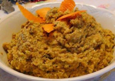 Avocado-Orangen Pesto - Rezept