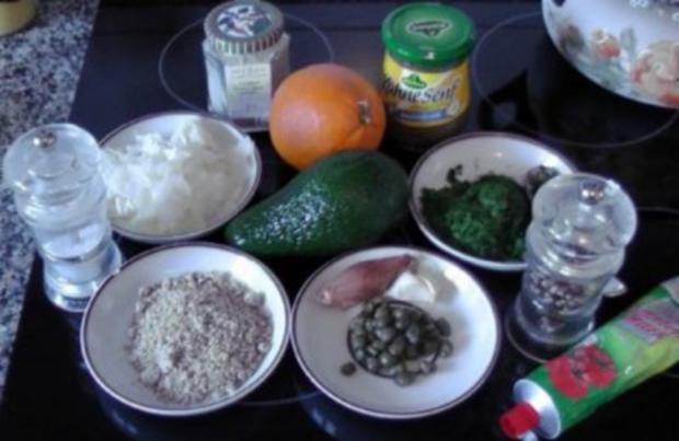 Avocado-Orangen Pesto - Rezept - Bild Nr. 2