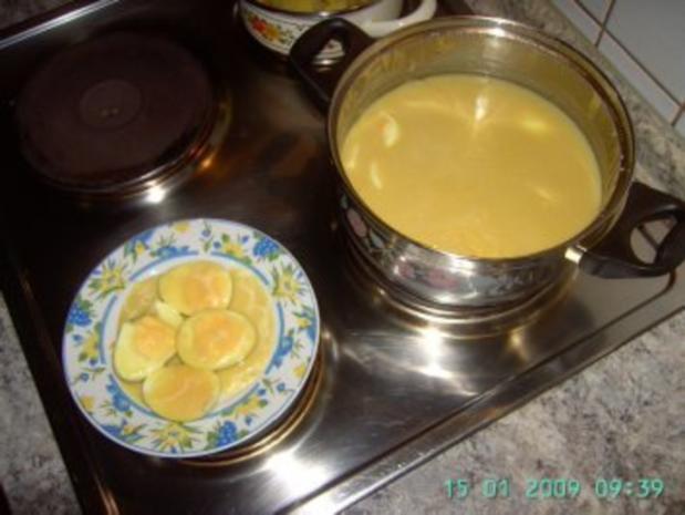 Eier Senf oder Senfeier - Rezept