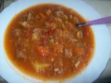 Eintopf - Sauerkrautsuppe - Rezept