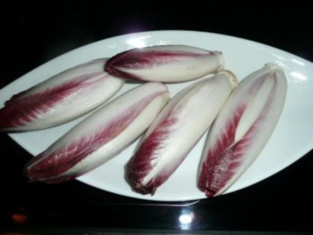 SALAT/ROTER CHICOREE-Salat-Ananas-Lammfilet - Rezept - Bild Nr. 3