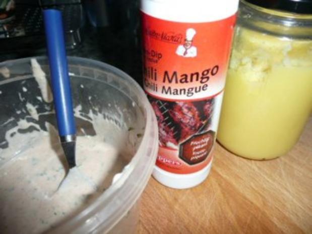 SALAT/ROTER CHICOREE-Salat-Ananas-Lammfilet - Rezept - Bild Nr. 7