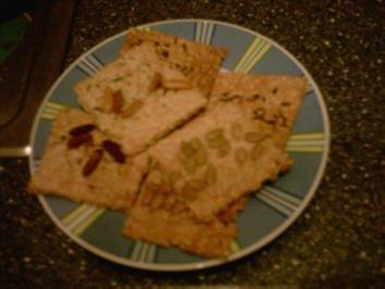 Salzige Sesamcracker - Rezept