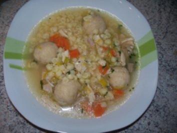 Rezept: Hühnersuppe mit Nudeln