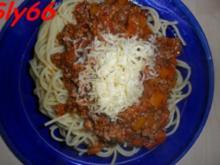 Soßen:Hackfleisch-Gemüse Soße ohne Tomaten - Rezept