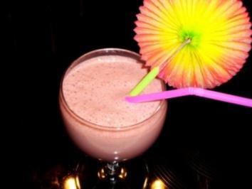 Getränke: Schoko-Cherry-Milch-Shake - Rezept