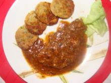 Fleisch : -Schweinekamm in Sauce- - Rezept