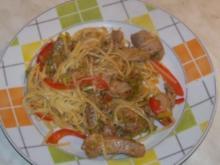 Scharfes Schweinefleisch - Rezept