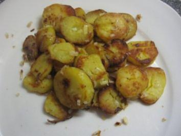 Bratkartoffeln Vegetarisch aus Pellkartoffeln - Rezept