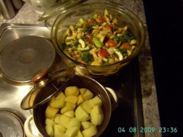 gedünsteter Gemüseauflauf - Rezept