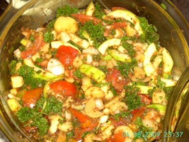 gedünsteter Gemüseauflauf - Rezept - Bild Nr. 3