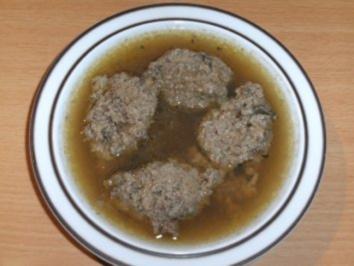 Suppe: Leberknödelsuppe - Rezept