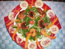 Feldsalat mit Thai-Garnelen - Rezept