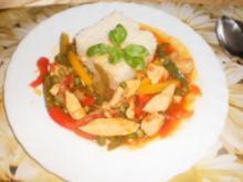 Scharfes Hühnchen - Rezept