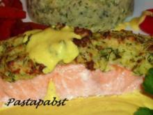 Lachs unter der Kartoffelkruste - Rezept