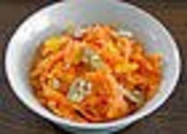 Orangen-Karotten-Salat - Rezept