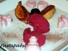 Joghurt Himbeer Panna Cotta - Rezept