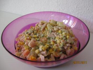 Rezept: Fruchtiger Partysalat